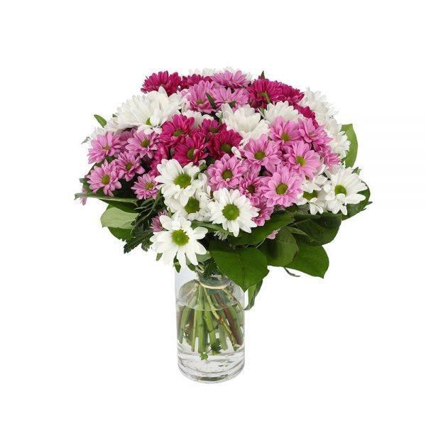 Buquê de flores campestres