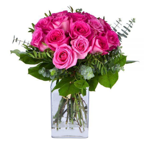 Buquê de rosas cor de rosa