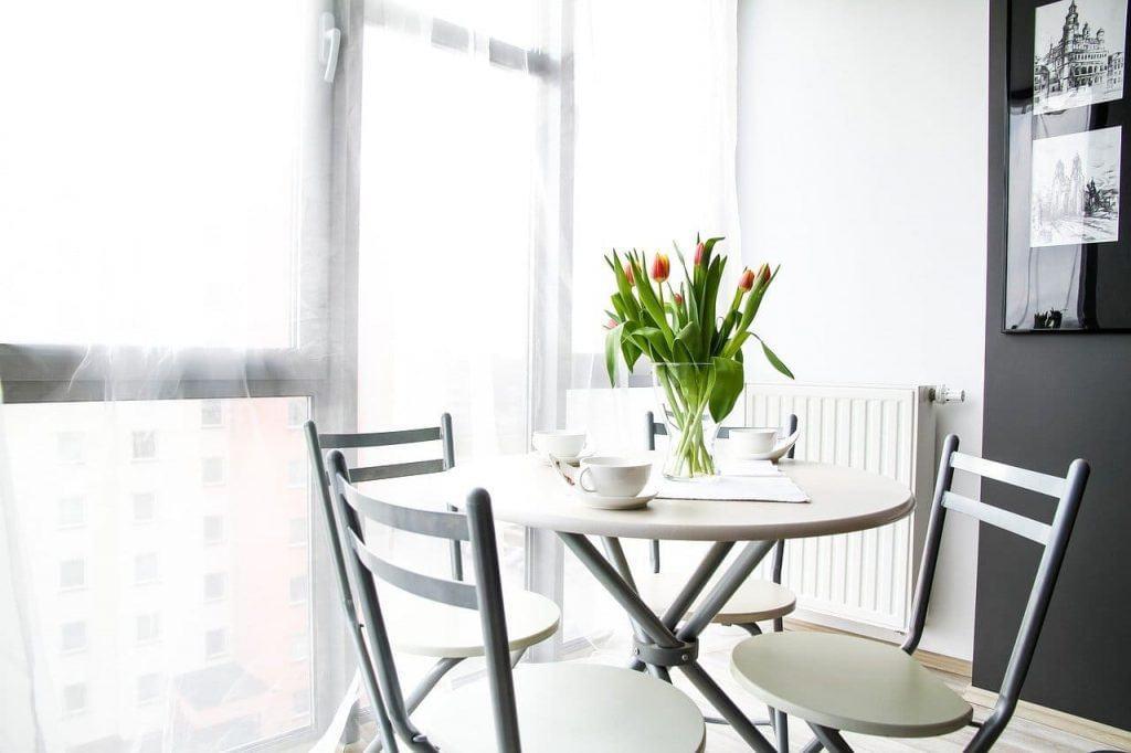 Design interior com flores