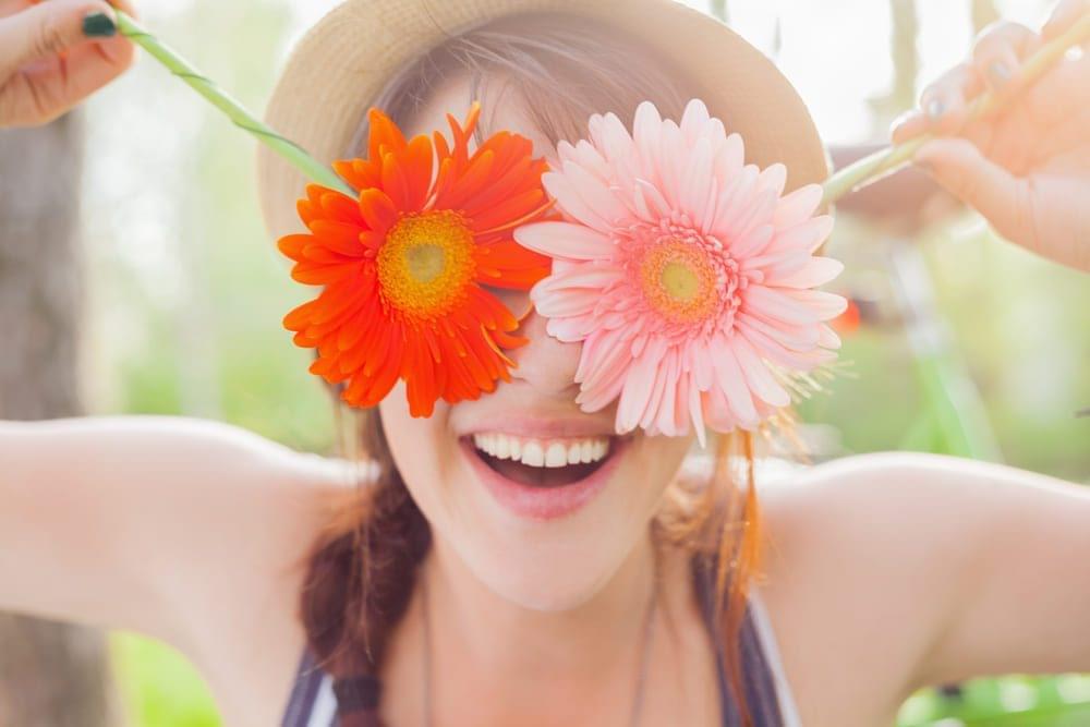 Benefícios de oferecer flores