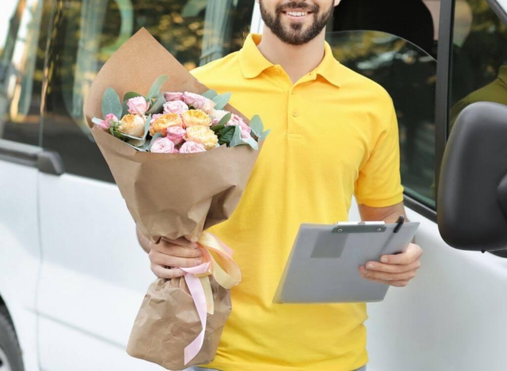 Entrega de Flores em Braga