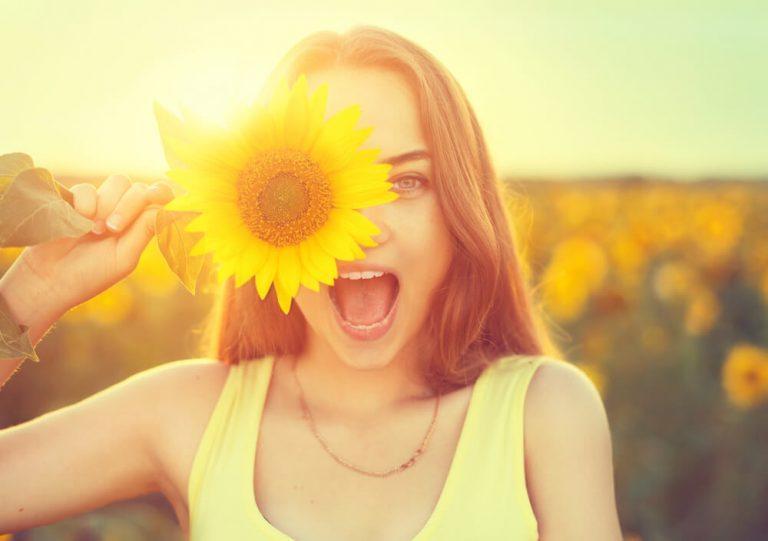 Flores Felicidade