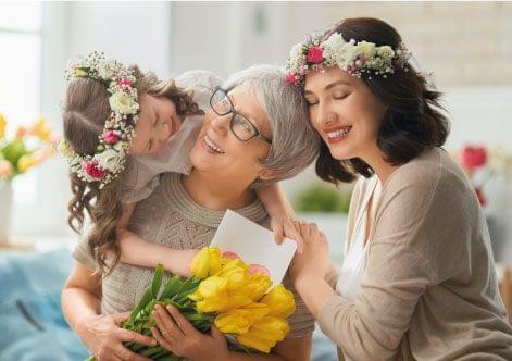flores para o dia dos avós