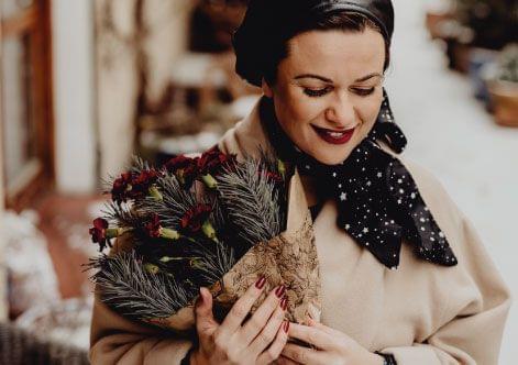 Flores para o natal