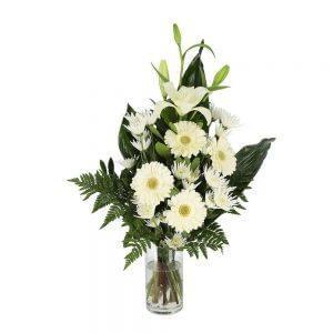 Palma de flores para funeral