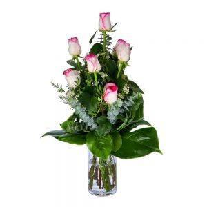 Ramo de rosas cor de rosa